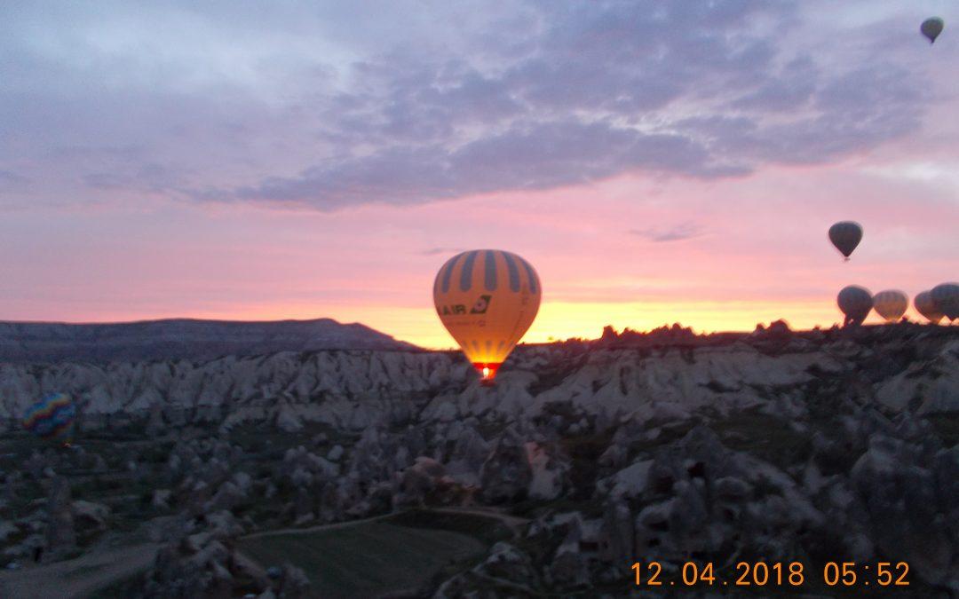 În voia vântului anatolian, Cappadocia