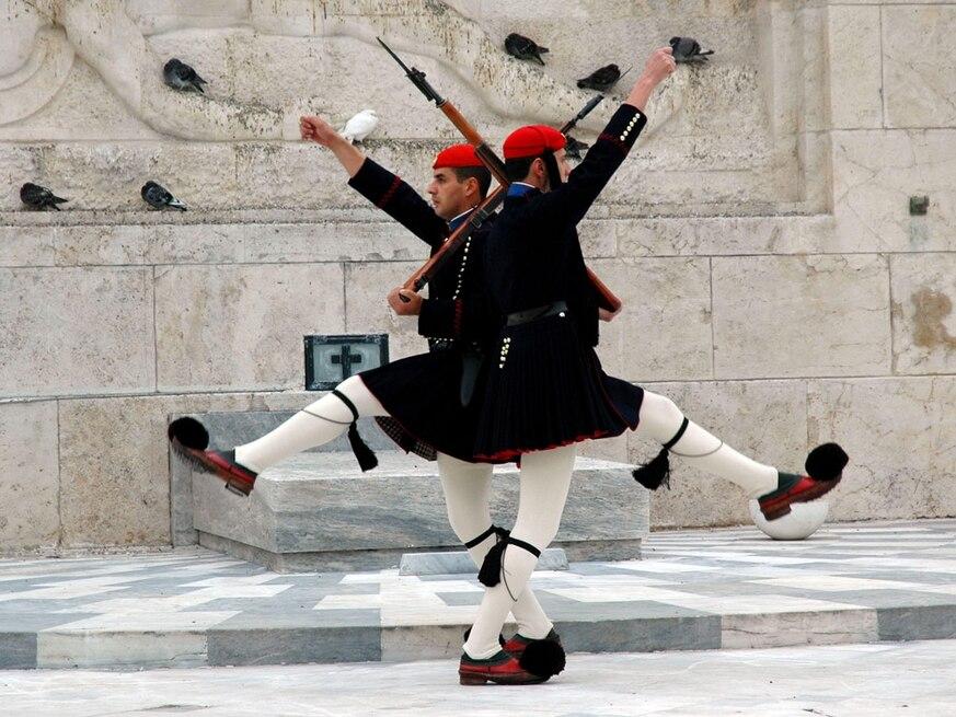 EVZONES, ΠΡΟΕΔΡΙΚΗ ΦΡΟΥΡΑ,  Garda Prezidențială