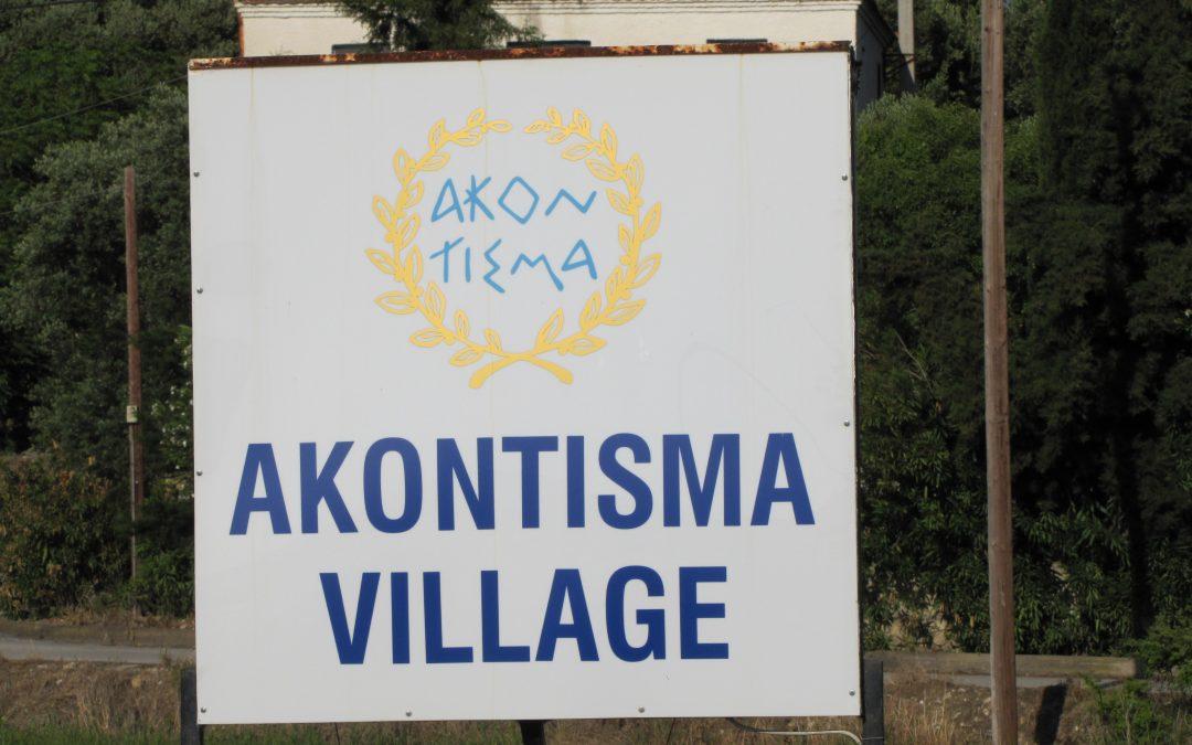 Un nou popas la Akontisma