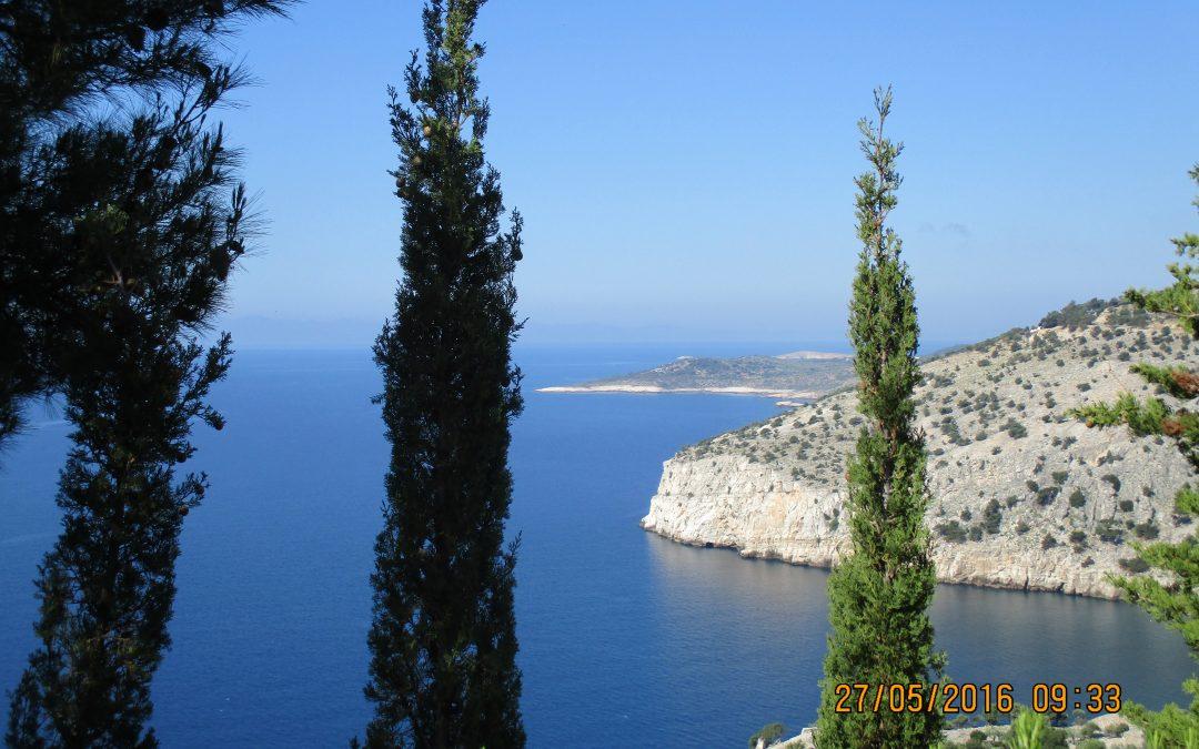 Thassos, locuri şi legende