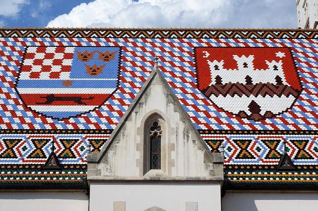 Zagreb, plava grad (II), Gradec, Grič