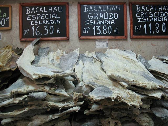 Bacalhau, vedeta gastronomiei portugheze