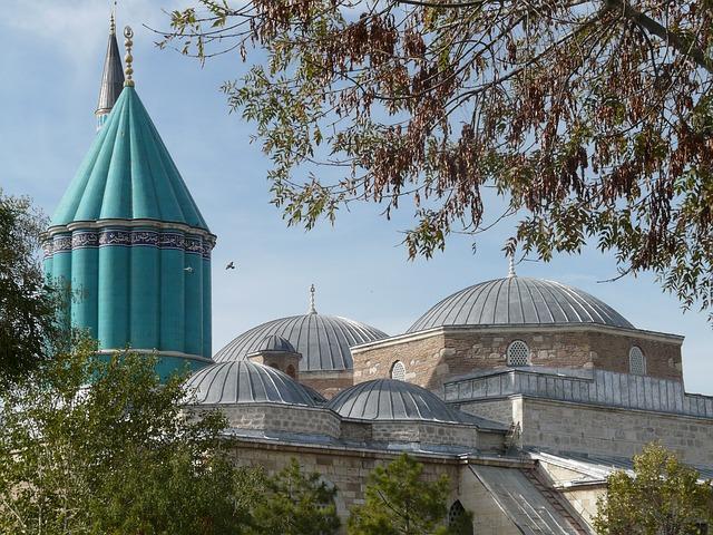 În vizită la Rumi, Konya