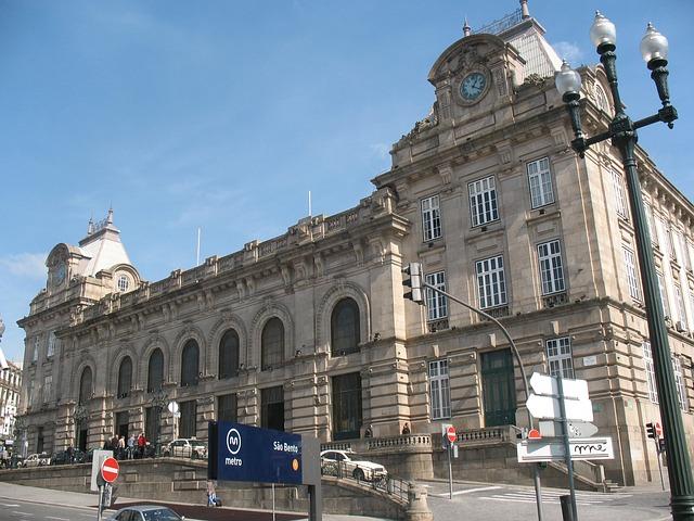 O gară muzeu în Porto