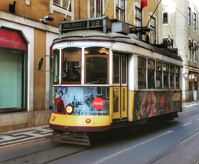 Lisabona 2019, transportul public în oraș (I)